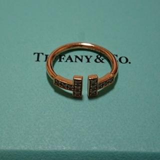 ティファニー(Tiffany & Co.)の[お値下げ可能]ほぼ新品! ワイヤー リング PG(リング(指輪))