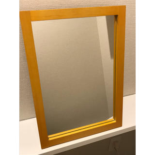 ムジルシリョウヒン(MUJI (無印良品))の無印良品 鏡(卓上ミラー)
