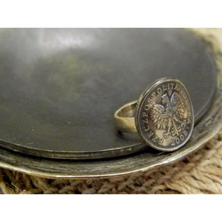 #R31 Poland coin ring  (リング(指輪))