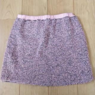 シャンティ(SHANTii)のShanti2  ツイードミニスカート♪(ミニスカート)