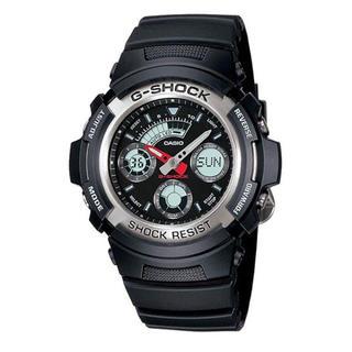 カシオ Gショック メンズ 時計 アナデジ AW-590-1A(腕時計(デジタル))