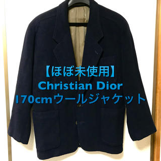 クリスチャンディオール(Christian Dior)の【ほぼ未使用】Christian Dior ウールジャケット(チェスターコート)