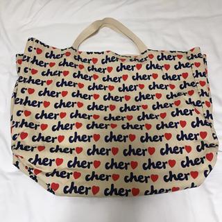 シェル(Cher)のcher エコバッグ 大(エコバッグ)