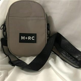 ノワール(NOIR)のM+RC NOIR (マルシェ ノア) ショルダーバッグ 新品 グレー 3M反射(ショルダーバッグ)