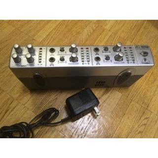 BEHRINGER ヘッドホンアンプ AMP800【現在ガリ無し、完動品】(その他)
