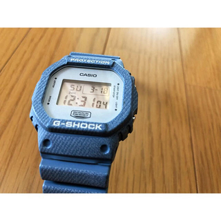 シュプリーム(Supreme)のG-SHOCK デニム時計(腕時計(デジタル))