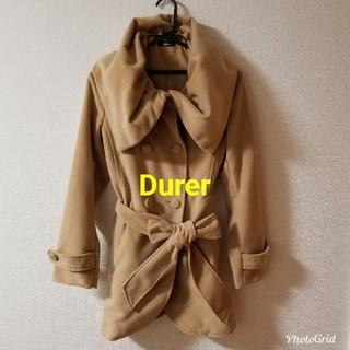 デュレル(Durer)のDurerのベージュコート(ピーコート)
