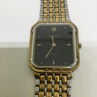 ウォルサム(Waltham)のWALTHAM  メンズクォーツ  電池交換済(腕時計(アナログ))