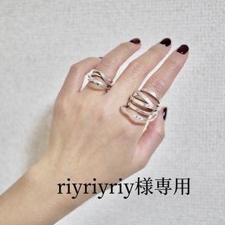 ゴンドア(gondoa)の【riyriyriy様 専用】リボンリング(リング(指輪))