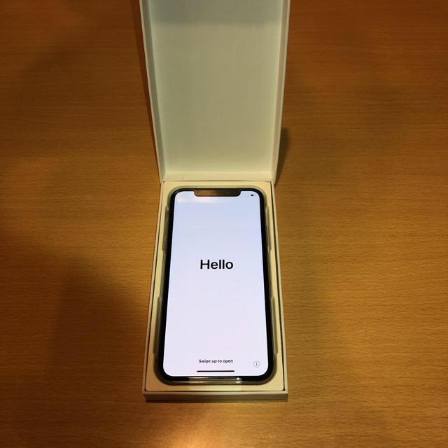 iPhone(アイフォーン)のiPhone X本体【値下げ可】新品・未使用  スマホ/家電/カメラのスマートフォン/携帯電話(スマートフォン本体)の商品写真