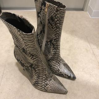 イエローブーツ(Yellow boots)のyello shoes パイソンブーツ(ブーツ)