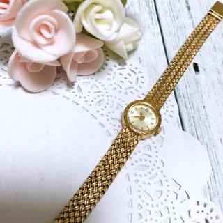 アガット(agete)の【動作OK】agete アガット 腕時計 ラウンドフェイス ジュエリーウォッチ (腕時計)