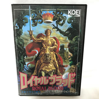 コーエーテクモゲームス(Koei Tecmo Games)のメガドライブ用ソフト ロイヤルブラッド(家庭用ゲームソフト)