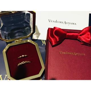 ヴァンドームアオヤマ(Vendome Aoyama)のお値下げ☆ヴァンドームアオヤマ Xmas限定 リングセット(リング(指輪))
