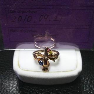 コンロン(KONRON)のBloody Mary ブラッディマリー アミュレット リング k10 ダイヤ(リング(指輪))