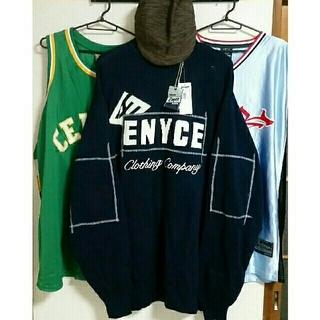 エニーチェ(ENYCE)の[新品、未使用] ENYCE XL ニット 長袖 シャツ セーター(ニット/セーター)
