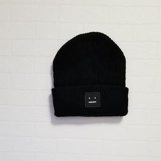 アクネ(ACNE)のニット帽(ニット帽/ビーニー)