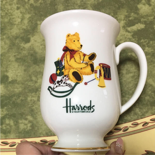 ハロッズ(Harrods)のHarrods ハロッズ 新品マグカップ Sanshinchan 専用(収納/キッチン雑貨)