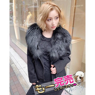 レディー(Rady)の【新品】ファーライダースジャケット(ブラック)♡(ライダースジャケット)