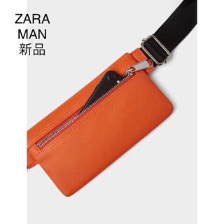 ザラ(ZARA)のZARA スマート ベルトバック オレンジ(ウエストポーチ)