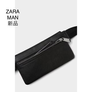 ザラ(ZARA)のZARA スマートベルト バック ブラック(ウエストポーチ)