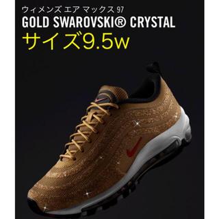"""シュプリーム(Supreme)のAIR MAX 97 LX SWAROVSKI """"METALLIC GOLD""""(スニーカー)"""