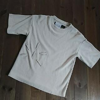 アンソフィーバックバック(ANN-SOFIE BACK/BACK)のANN-SOFIE BACK アンソフィーバック★ニット Tシャツ★BACK(Tシャツ(半袖/袖なし))