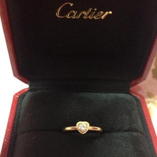 カルティエ(Cartier)のカルティエ18金プラチナリング♡お値下げ(リング(指輪))