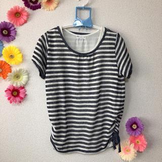 シマムラ(しまむら)のしまむら ボーダーTシャツ (Tシャツ(半袖/袖なし))