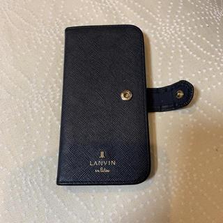 ランバンオンブルー(LANVIN en Bleu)のランバンオンブルー iPhone 6 7 8 用 ケース(iPhoneケース)