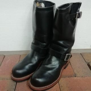 チペワ(CHIPPEWA)の幅広6E 美品 チペワ エンジニアブーツ 24(ブーツ)