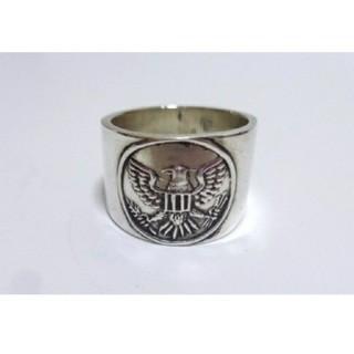 3396 SILVER925 ワイドイーグルリング23号 ネイティブインディアン(リング(指輪))