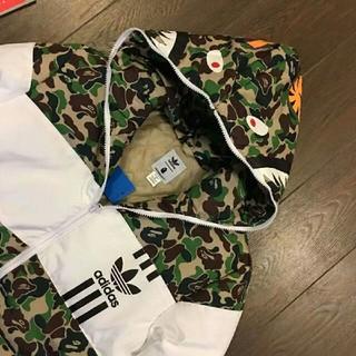 アディダス(adidas)のAdidas BAPE ID96 DOWN JACKET サイズ:M(ダウンジャケット)