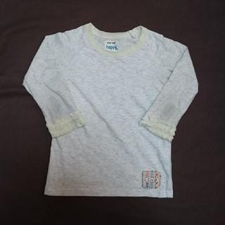 チップトリップ(CHIP TRIP)のCHIP TRIP グレー カットソー 100cm 女の子(Tシャツ/カットソー)