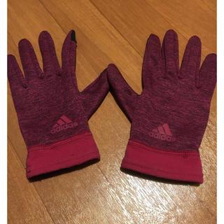 アディダス(adidas)のADIDAS CLIMAWARM 女性手袋 Sサイズ スマホタッチ(手袋)