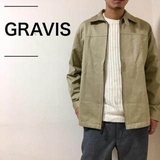 グラビス(gravis)の〈未使用〉GRAVIS グラビス スイングトップジャケット 希少 定価2万程度(ブルゾン)