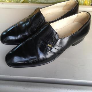 ランバン(LANVIN)のランバン紳士用革靴黒(ドレス/ビジネス)