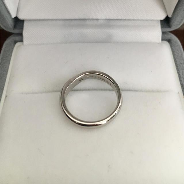 STAR JEWELRY(スタージュエリー)のスタージュエリー ダイヤモンド リング Pt950 0.04ct 3.9g レディースのアクセサリー(リング(指輪))の商品写真