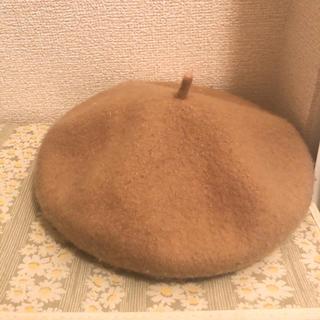 イーハイフンワールドギャラリー(E hyphen world gallery)のベージュ ベレー帽(ハンチング/ベレー帽)