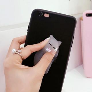 ぷにぷにネコちゃん iPhone7 携帯カバー(iPhoneケース)