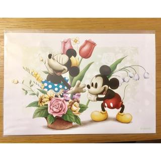 ディズニー(Disney)のディズニー ミッキー&ミニー ポストカード(写真/ポストカード)