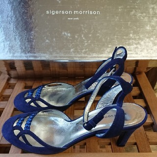 シガーソンモリソン(SIGERSON MORRISON)のsigersonmorrison サンダル ブルー 青(サンダル)