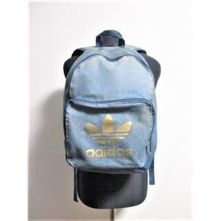 アディダス(adidas)の☆アディダス ヴィンテージ加工 デニム リュック/バックパック☆希少モデル(バッグパック/リュック)