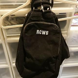 ロデオクラウンズワイドボウル(RODEO CROWNS WIDE BOWL)の使用につき値下げ!(ショルダーバッグ)