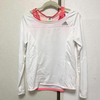 アディダス(adidas)のadidas 長袖トップス(Tシャツ(長袖/七分))