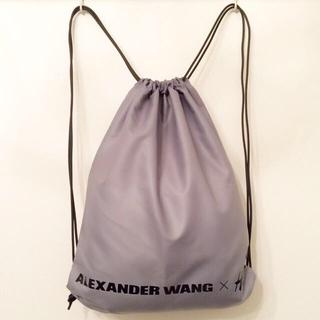 アレキサンダーワン(Alexander Wang)のアレキサンダーワン×H&Mナップサック(ショップ袋)