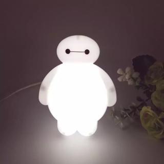 ディズニー(Disney)のベイマックス  ナイトライト 電球ライト 国内コンセント(蛍光灯/電球)