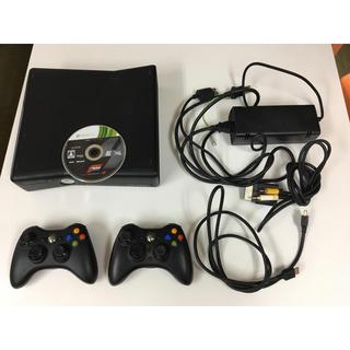 エックスボックス360(Xbox360)のXbox 360 S console ゲーム付(家庭用ゲーム本体)