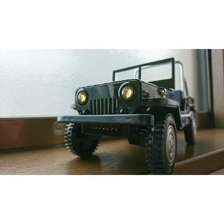 ジープ(Jeep)のミニチュアジープ*JEEP 1/24フィギュア ミリタリー 模型(ミリタリー)