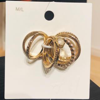 エイチアンドエム(H&M)のH&M リング7本セット(リング(指輪))
